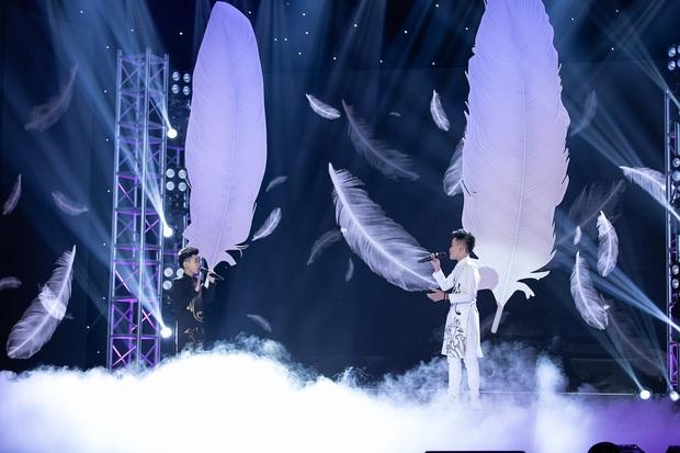 Cặp đôi vàng nhí: Được Huỳnh Lập khen ngợi và nhảy cùng, hot boy lai Hàn vẫn ngậm ngùi ra về - Ảnh 7.