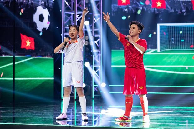 Cặp đôi vàng nhí: Được Huỳnh Lập khen ngợi và nhảy cùng, hot boy lai Hàn vẫn ngậm ngùi ra về - Ảnh 5.