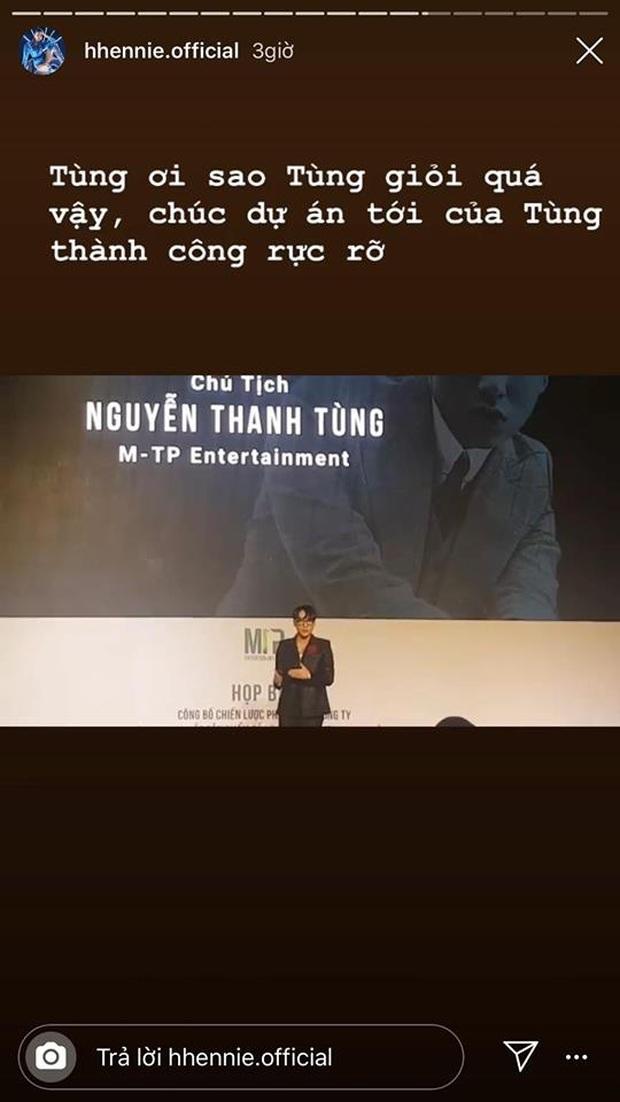 Fan cứng của Sơn Tùng M-TP là HHen Niê chứ ai: Idol vừa công bố dự án khủng đã lên ngay MXH ca ngợi thế này rồi! - Ảnh 3.
