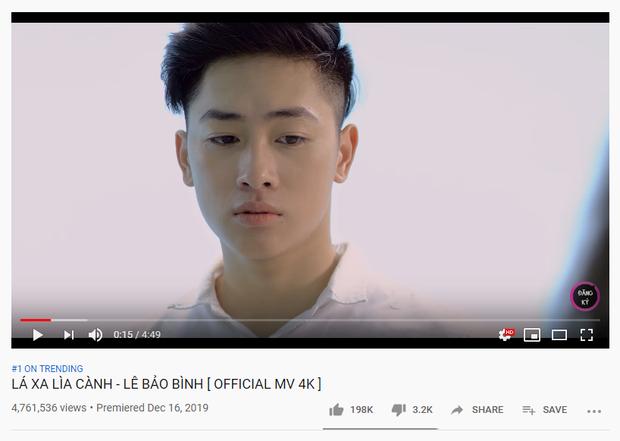 Đùng đùng ra MV rồi leo thẳng Top 1 Trending đẩy Đạt G xuống, Lê Bảo Bình chính là cái tên chốt sổ hit Vpop năm 2019? - Ảnh 1.