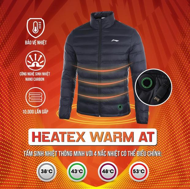 Áo lông vũ thông minh – Sinh nhiệt giữ ấm - Ảnh 2.