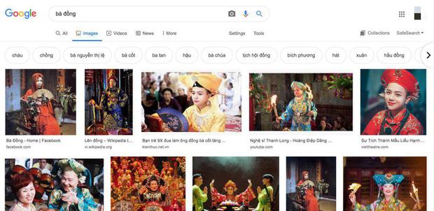 Tung tạo hình Duyên Âm, Hoàng Thuỳ Linh bị netizen phát hiện giống bất ngờ với ảnh bà đồng tìm được trên Google - Ảnh 4.