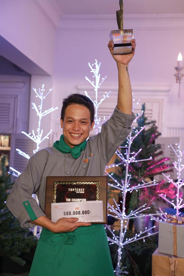 Thành Vương bật khóc bên vợ con khi đăng quang Quán quân Top Chef Vietnam mùa 2 - Ảnh 5.
