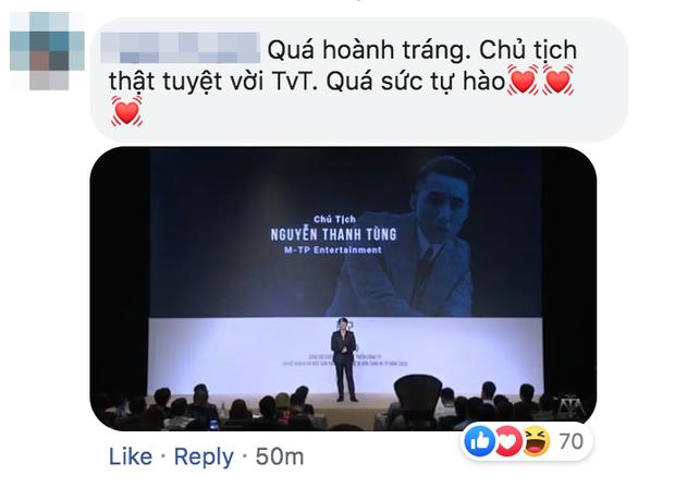 Sơn Tùng M-TP thông báo kế hoạch xây dựng đế chế riêng, netizen phản ứng: Tự hào cảm giác có idol ưu tú là đây! - Ảnh 8.