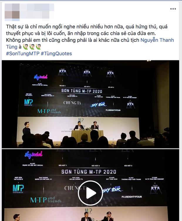 Sơn Tùng M-TP thông báo kế hoạch xây dựng đế chế riêng, netizen phản ứng: Tự hào cảm giác có idol ưu tú là đây! - Ảnh 4.
