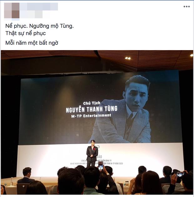 Sơn Tùng M-TP thông báo kế hoạch xây dựng đế chế riêng, netizen phản ứng: Tự hào cảm giác có idol ưu tú là đây! - Ảnh 3.