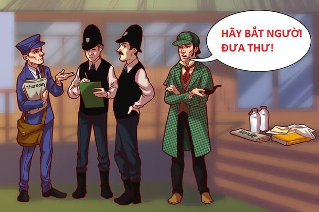 Thử tài phá án cùng Sherlock Holmes: Ai là kẻ sát nhân giết chết chủ nhà và ai thủ phạm làm vỡ kính nhà hàng xóm? - Ảnh 1.