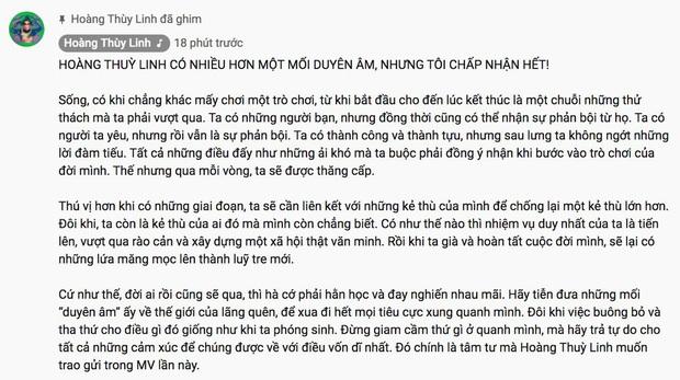 Hoàng Thùy Linh kể lại chuyện Nhật Ký Vàng Anh trong MV Duyên Âm, đem cả mẹ con Quỳnh Trần JP - bé Sa và Khá Bảnh vào đầy hài hước - Ảnh 8.