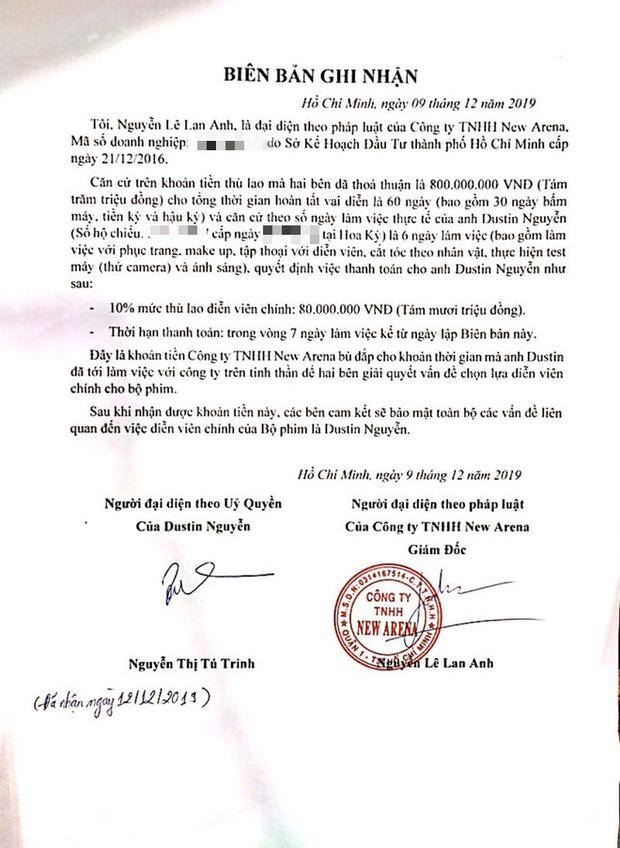 CGV giữ im lặng, NSX Bóng Đè đáp trả drama tố cắt vai của Dustin Nguyễn với loạt bằng chứng: Lời tố cáo là hoàn toàn vô căn cứ! - Ảnh 7.