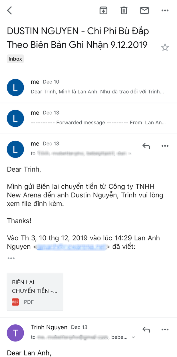 CGV giữ im lặng, NSX Bóng Đè đáp trả drama tố cắt vai của Dustin Nguyễn với loạt bằng chứng: Lời tố cáo là hoàn toàn vô căn cứ! - Ảnh 6.