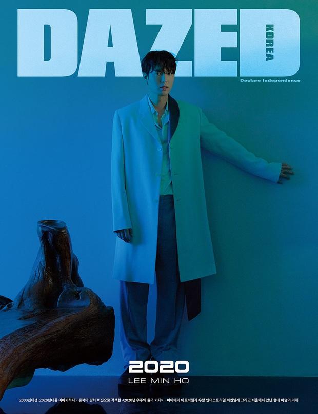 Lee Min Ho lại khiến bao con tim thổn thức với bộ ảnh mới, visual thế này bảo sao cả Suzy và Park Min Young mê đắm - Ảnh 6.
