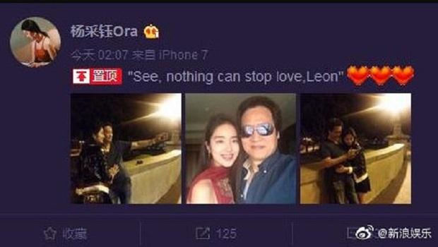 Rộ tin cha nuôi tỷ phú của Lưu Diệc Phi đã kết hôn với tình trẻ kém 30 tuổi có nhan sắc giống con gái nuôi - Ảnh 2.