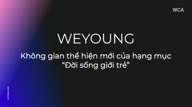 WeYoung - Nơi âm nhạc là cách thể hiện mới của đời sống giới trẻ, điểm nhấn đặc sắc nhất của WeChoice Awards 2019 - Ảnh 1.