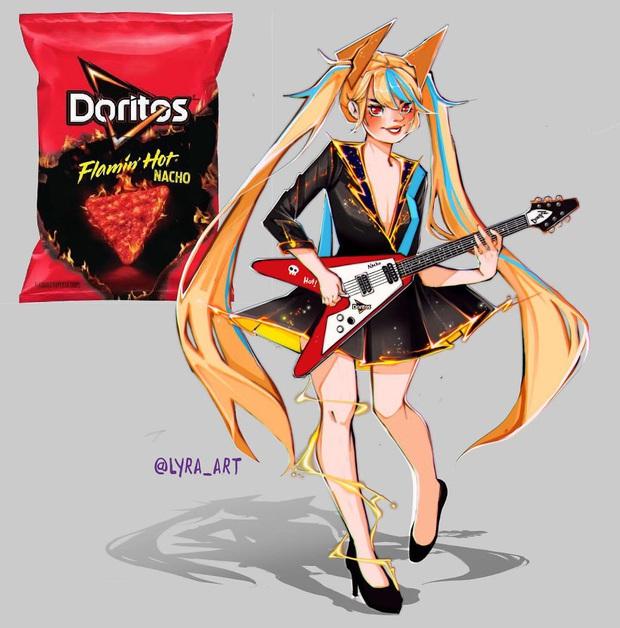 """Thử tưởng tượng các loại đồ ăn sẽ """"biến hình"""" thành nhân vật anime, đâu là cái tên giành ngôi cosplay xuất sắc nhất? - Ảnh 13."""