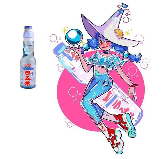 """Thử tưởng tượng các loại đồ ăn sẽ """"biến hình"""" thành nhân vật anime, đâu là cái tên giành ngôi cosplay xuất sắc nhất? - Ảnh 27."""