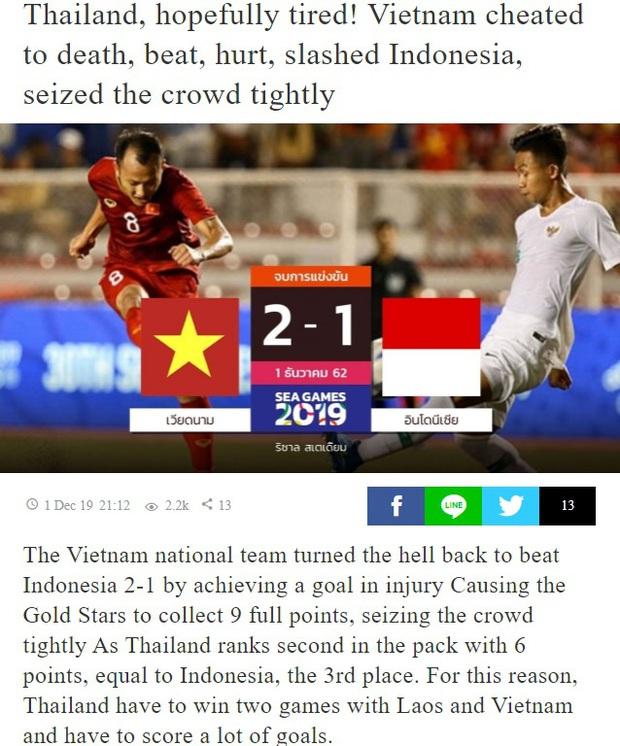 Báo Thái: Việt Nam thoát khỏi địa ngục một cách thần kỳ, U22 Thái Lan mệt rồi đây! - Ảnh 2.