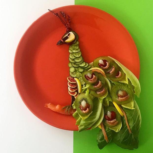 Chỉ với vài nguyên liệu đơn giản mà người ta tạo hình đồ ăn công phu thế này đây, xem ảnh chỉ biết ngỡ ngàng vì đẹp (phần 2) - Ảnh 4.