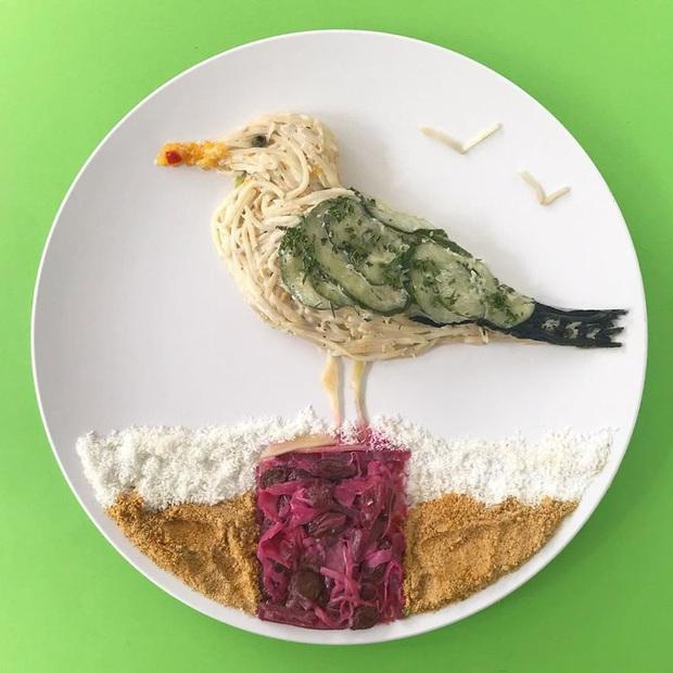 Chỉ với vài nguyên liệu đơn giản mà người ta tạo hình đồ ăn công phu thế này đây, xem ảnh chỉ biết ngỡ ngàng vì đẹp (phần 2) - Ảnh 9.