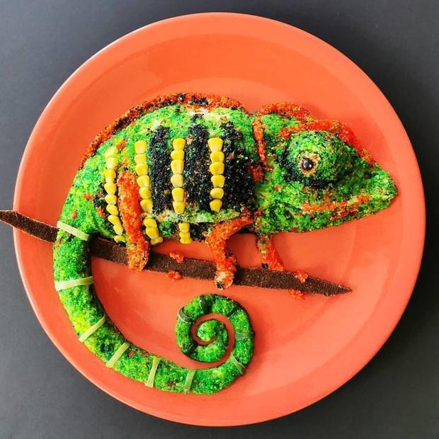 Chỉ với vài nguyên liệu đơn giản mà người ta tạo hình đồ ăn công phu thế này đây, xem ảnh chỉ biết ngỡ ngàng vì đẹp (phần 2) - Ảnh 11.