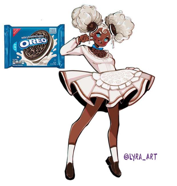 """Thử tưởng tượng các loại đồ ăn sẽ """"biến hình"""" thành nhân vật anime, đâu là cái tên giành ngôi cosplay xuất sắc nhất? - Ảnh 9."""
