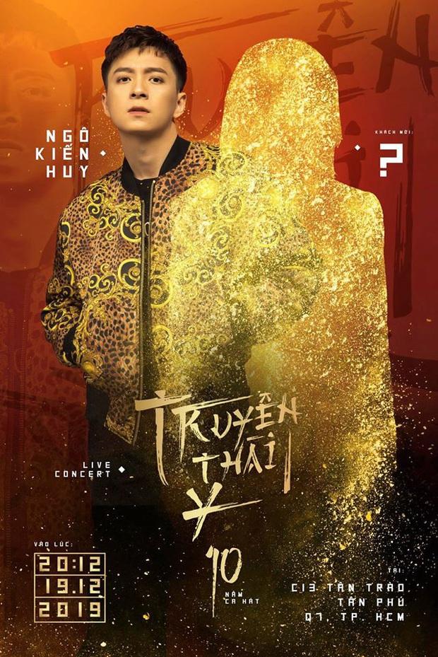 Ngô Kiến Huy cho fan lĩnh trọn cú lừa, trùm cuối special show nào phải BB Trần mà chính là nam ca sĩ chơi thân 10 năm - Ảnh 1.
