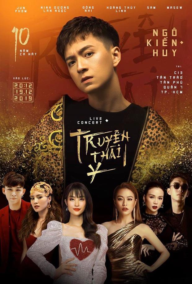 Ngô Kiến Huy cho fan lĩnh trọn cú lừa, trùm cuối special show nào phải BB Trần mà chính là nam ca sĩ chơi thân 10 năm - Ảnh 4.