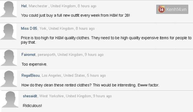 H&M Thụy Điển mở dịch vụ cho thuê quần áo với giá 850.000 VNĐ/tuần nhưng lại bị nhiều người chê bai - Ảnh 3.
