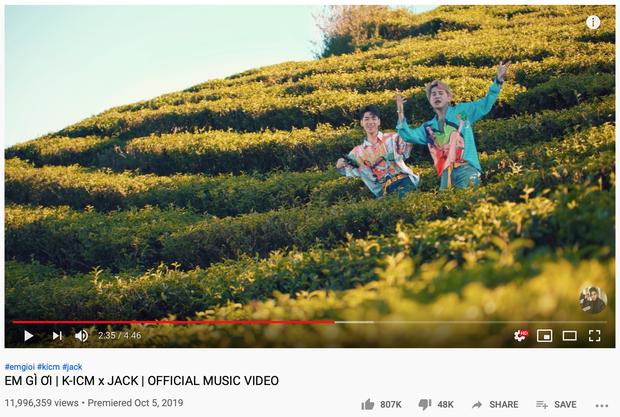 Sau 48 giờ ra mắt MV mới, Jack và K-ICM thua chính mình nhưng vẫn chứng minh sức mạnh tân binh khủng long so với mặt bằng chung Vpop! - Ảnh 6.