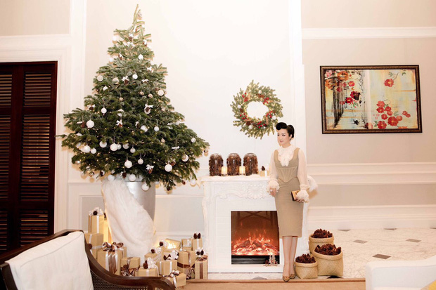 Tăng Thanh Hà, Phạm Hương và dàn sao Vbiz tất bật trang hoàng nhà cửa mới thấy không khí Giáng Sinh đã sớm ùa về! - Ảnh 10.