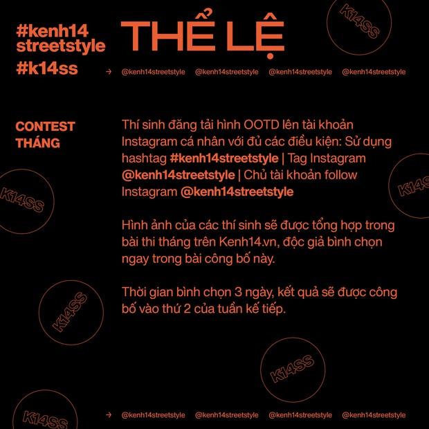 Contest #kenh14streetstyle chính thức trở lại lợi hại hơn, giải thưởng đỉnh hơn, chơi đi chờ chi các bạn ơi! - Ảnh 5.