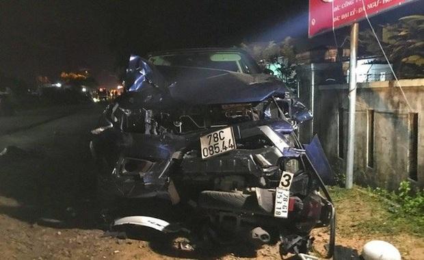 Thêm một nạn nhân tử vong trong vụ xe bán tải đâm hàng loạt xe máy ở Phú Yên - Ảnh 1.