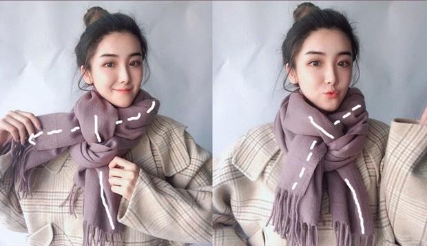 5 cách quàng khăn siêu xinh kiểu Hàn Quốc để bạn diện ngay trong ngày gió lạnh căm căm - Ảnh 11.