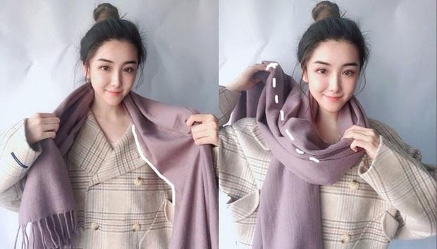 5 cách quàng khăn siêu xinh kiểu Hàn Quốc để bạn diện ngay trong ngày gió lạnh căm căm - Ảnh 6.