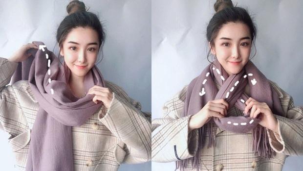 5 cách quàng khăn siêu xinh kiểu Hàn Quốc để bạn diện ngay trong ngày gió lạnh căm căm - Ảnh 8.