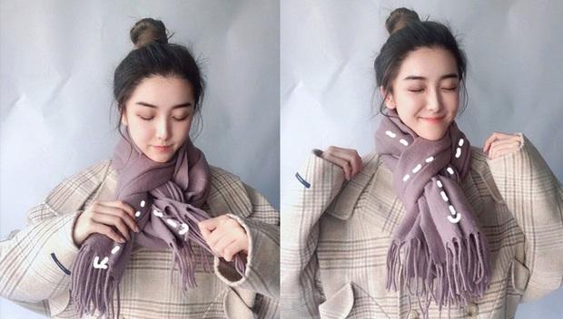 5 cách quàng khăn siêu xinh kiểu Hàn Quốc để bạn diện ngay trong ngày gió lạnh căm căm - Ảnh 9.