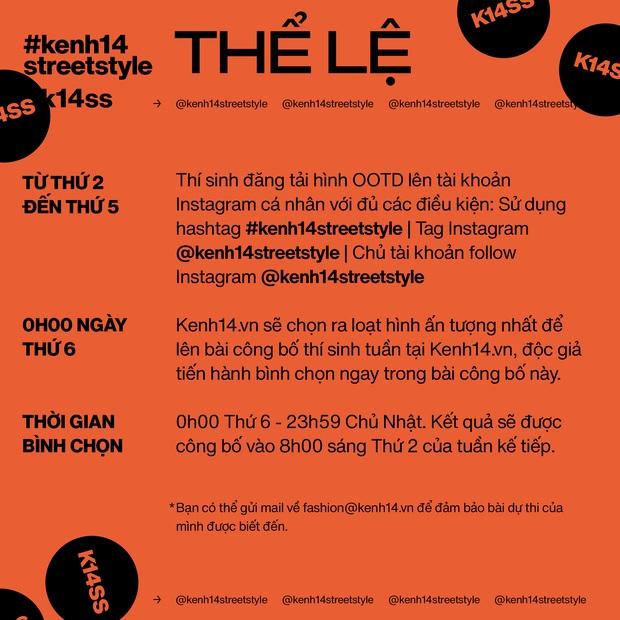 Contest #kenh14streetstyle chính thức trở lại lợi hại hơn, giải thưởng đỉnh hơn, chơi đi chờ chi các bạn ơi! - Ảnh 2.