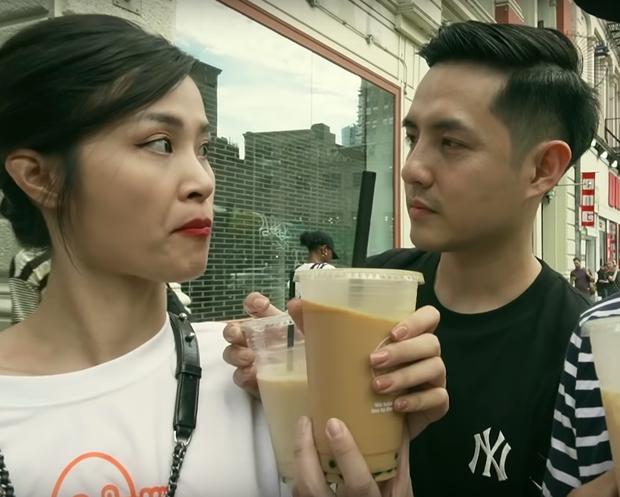 """Cùng là mê trà sữa nhưng trong khi Trường Giang đích thân đi mua cho vợ thì Trấn Thành lại... tranh uống với Hari, đôi Nhi - Thắng còn """"phát cuồng"""" - Ảnh 11."""