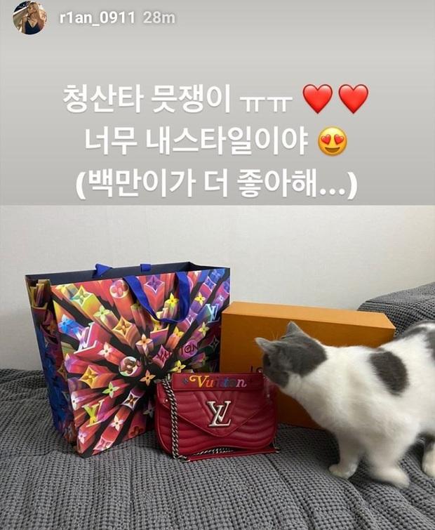 Sướng đến khóc thét như ekip của Chungha và Irene (Red Velvet): Người sốc vì túi ví quá đắt tiền, người khóc vì airpod hàng fake! - Ảnh 3.