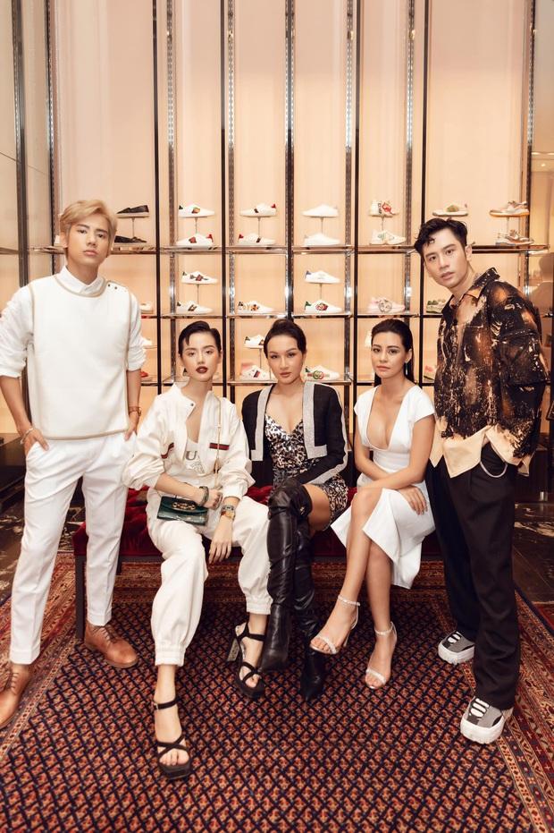 Khánh Linh bức xúc vì Giang Ơi, Vũ Dino bị fanpage thời trang dè bỉu là rải phèn khi tham gia event của Gucci - Ảnh 1.