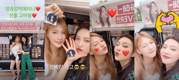 """Joy (Red Velvet) cùng 96-line của GFriend và APink xuất hiện tại phòng tập của SM, là """"thính"""" sân khấu đặc biệt sau tin đồn kết hợp cùng TWICE? - Ảnh 3."""