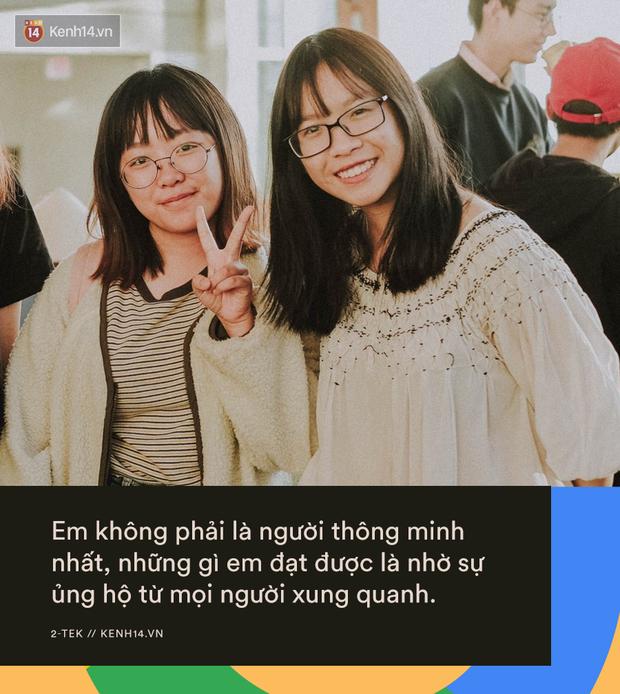 Cô gái 18 tuổi Việt Nam giành suất thực tập Google trước cả trăm nghìn đối thủ: Em không thông minh, chỉ là em cố gắng rất nhiều - Ảnh 2.