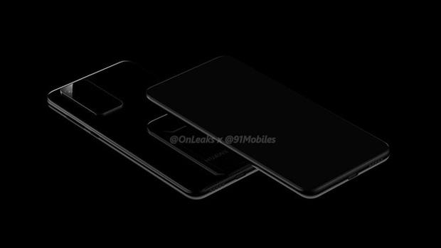 Lộ ảnh thiết kế Huawei P40 Pro, trông giống hệt Samsung Galaxy S11 - Ảnh 2.