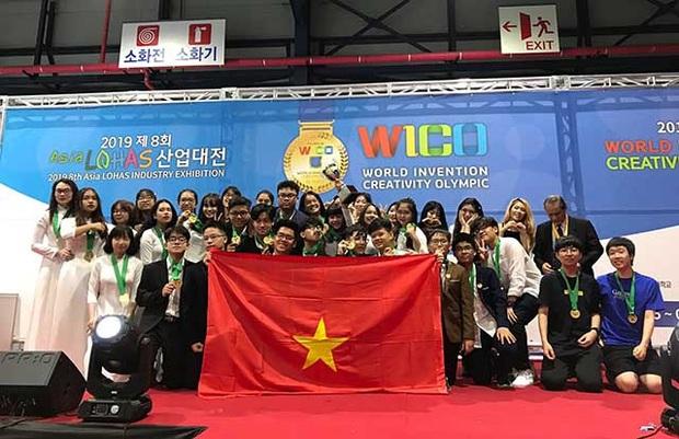Người tiên phong: Học sinh Việt mang phát minh ra thế giới chinh chiến - Ảnh 1.
