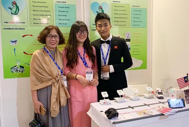 Người tiên phong: Học sinh Việt mang phát minh ra thế giới chinh chiến - Ảnh 3.