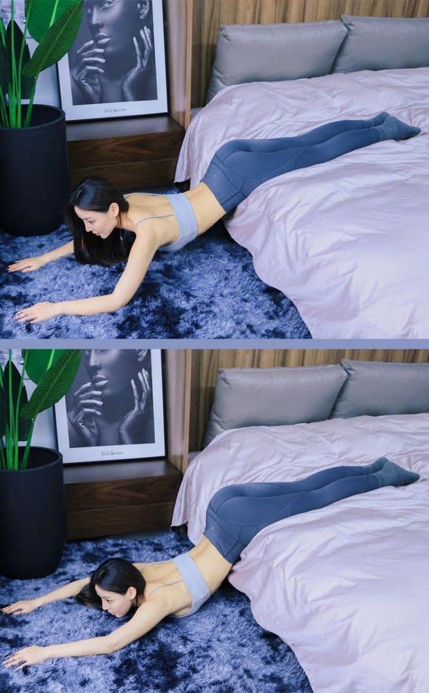 Muốn có body thon gọn mà lười đến phòng tập, thử ngay 5 bài tập sau trên giường để cải thiện vóc dáng - Ảnh 6.