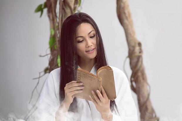 Vừa hết nhiệm kỳ Hoa hậu, HHen Niê gây choáng trong tạo hình cổ trang thướt tha, chuyển hướng làm diễn viên phim ca nhạc? - Ảnh 2.