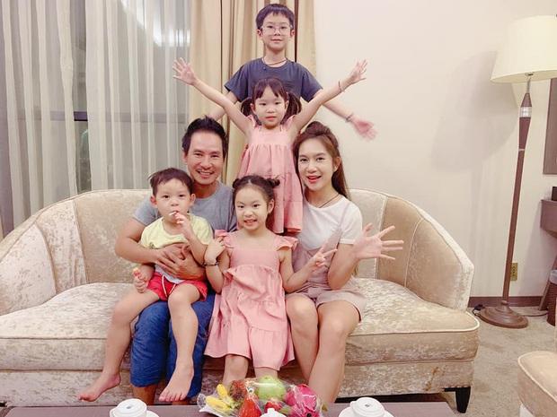 Lý Hải - Minh Hà tổ chức sinh nhật con gái, nhìn cả nhà chung khung hình đúng chuẩn gia đình đông nhóc tỳ nhất Vbiz! - Ảnh 6.