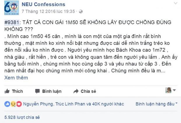 Những trang thú tội đậm chất riêng các trường đại học: NEU Confessions chuyên tổng hợp drama kì quái, sinh viên RMIT toàn mùi khoe tiền - Ảnh 2.