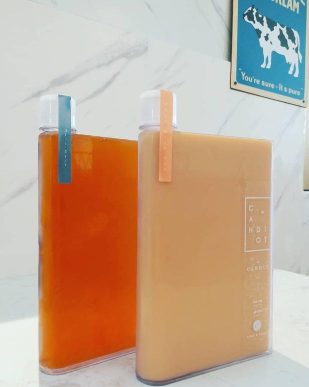 Xuất hiện trà sữa trân châu hình quyển sổ cực độc đáo dành riêng cho hội chăm học và mê viết lách - Ảnh 4.