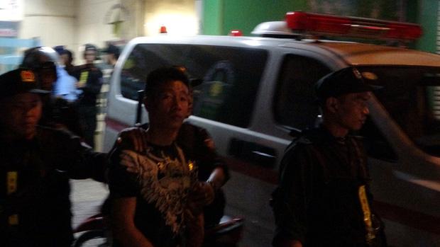 Toàn đen cầm đầu nhóm giang hồ khống chế uy hiếp giám đốc bệnh viện Tâm Hồng Phước đòi nợ bị khởi tố - Ảnh 8.
